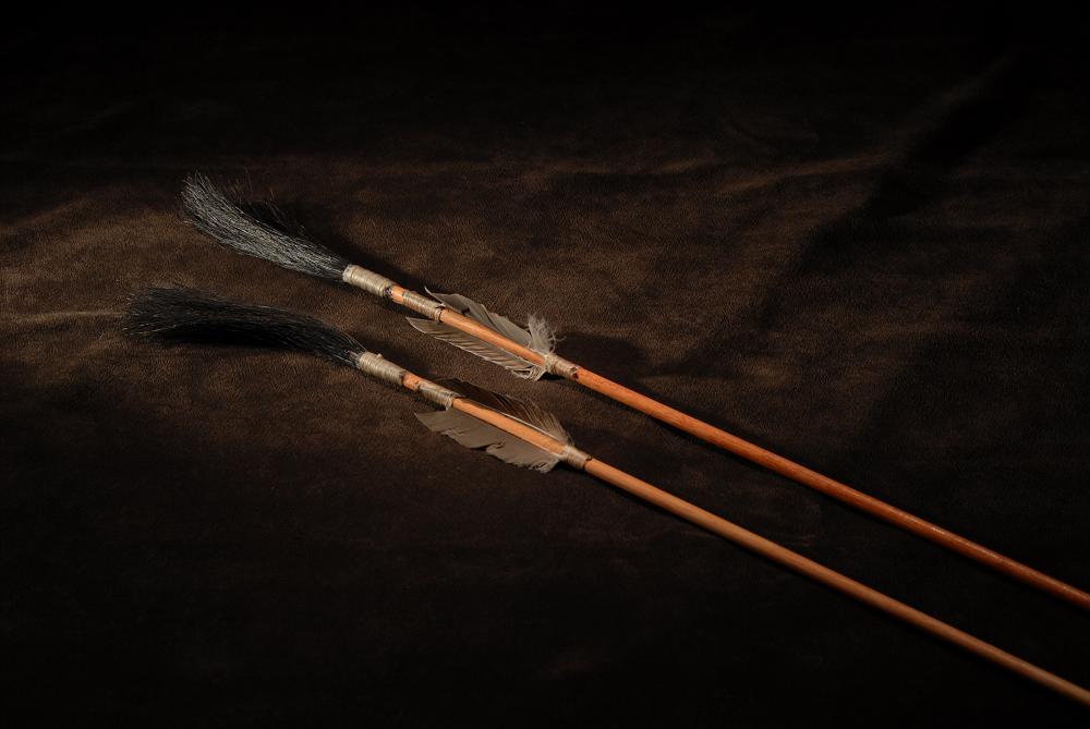 Arrows for casting, Plains Indians