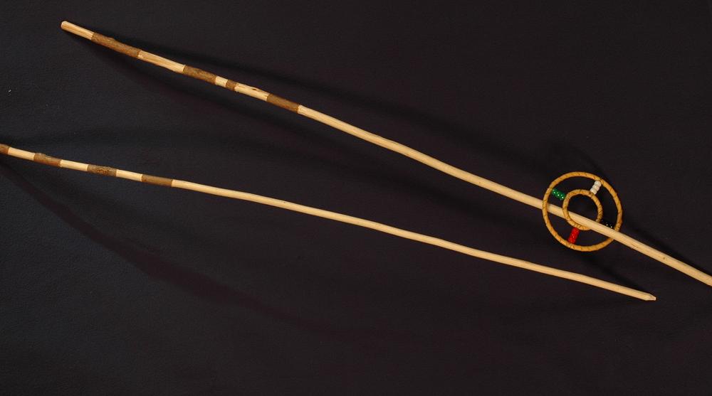 Hoop & Long Arrow, Blackfeet