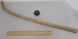 Shinney Stick and Ball