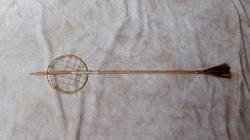 Hoop & Arrow, White Clay
