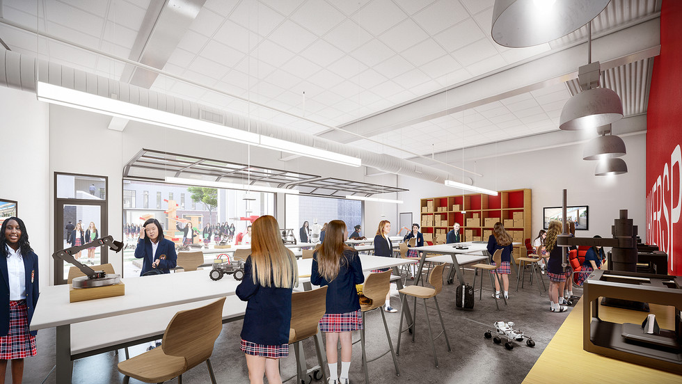 Ursuline Academy of Dallas - Makerspace