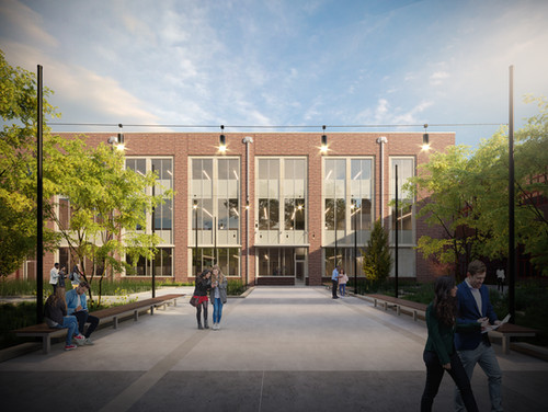 Rose-Hulman Academic Building