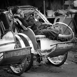 Cyclo pousse Phnom Penh