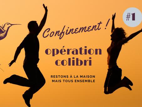 #1 - OPÉRATION COLIBRI - CONFINEMENT