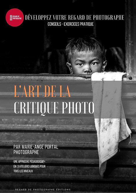 E-BOOK - FORMATION APPRENDRE  À CRITIQUER SES PHOTOS