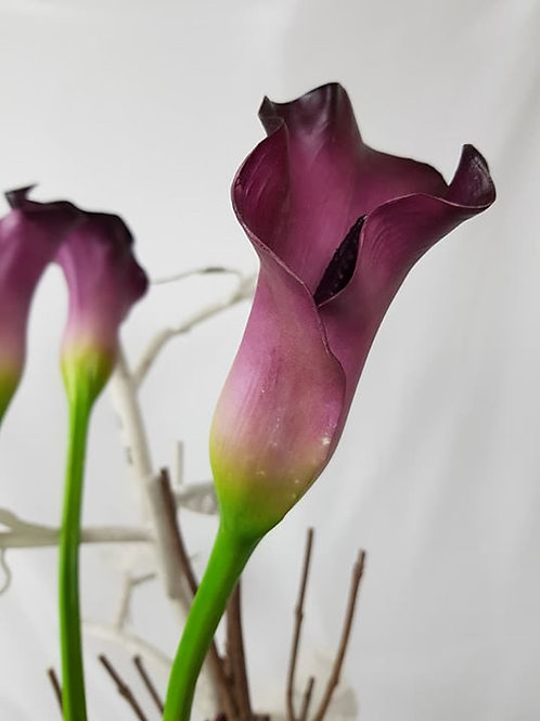 "Real to touch ""Calla Lily"""