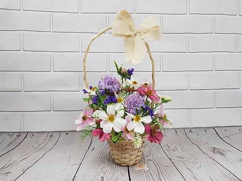 Wild Flower mini basket