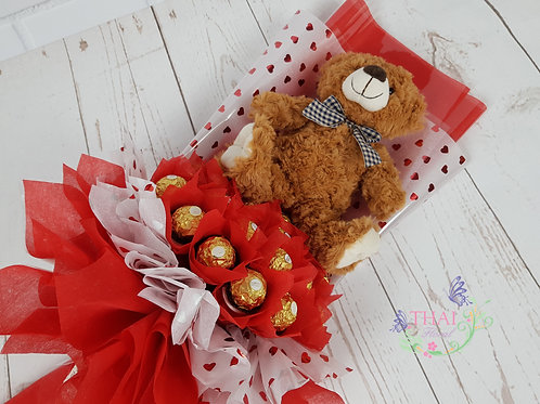 Ferraro Roucher + Teddy bear Bouquet