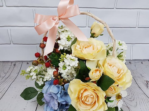 Adorable flower basket