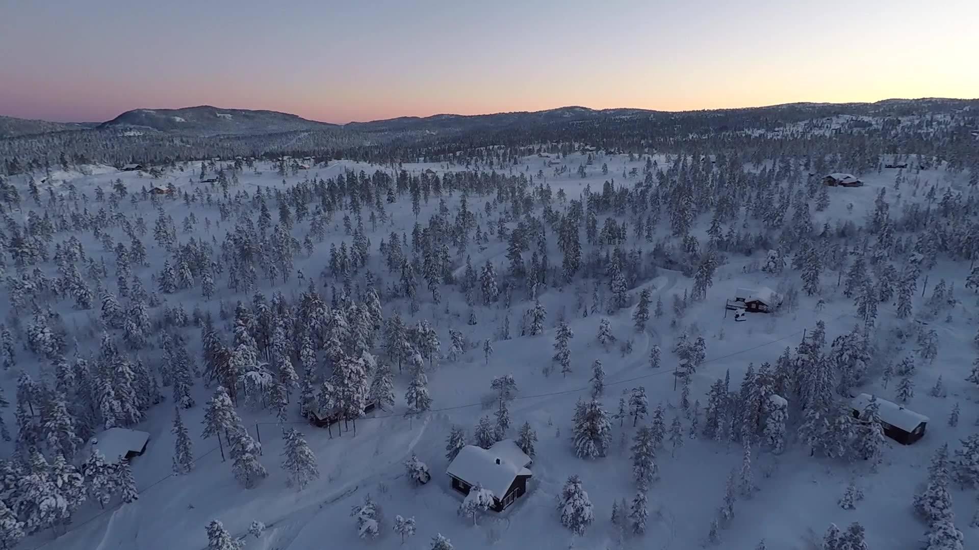 Blefjell i Buskerud, Hyttetur Januar 2018