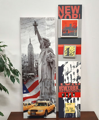 2 tableaux New York - F031