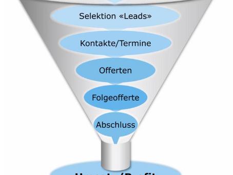 Sales Funnel – Erfolg im Vertrieb dank einem klaren und messbaren Verkaufsprozess