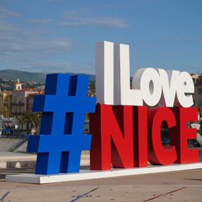 Symbol der Stadt Nizza