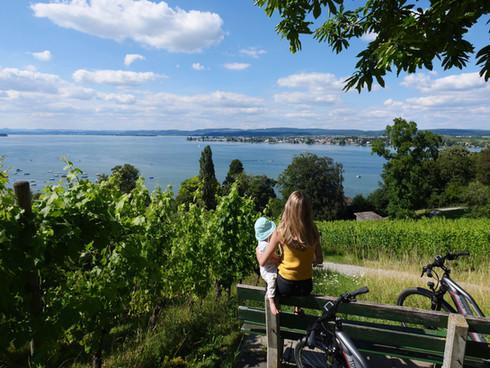 Mit dem E-Bike entlang des Bodensees