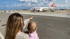 Erste Flugreise mit Baby