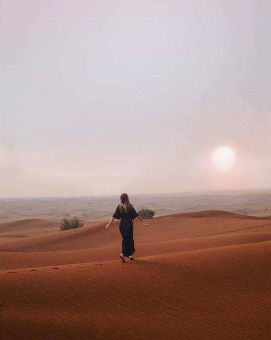 Wüste von Dubai