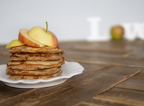 Apfel/Zimt Waffeln oder Pancakes