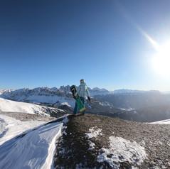 Skifahren im Südtirol