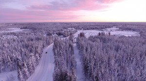 Licht in Lappland