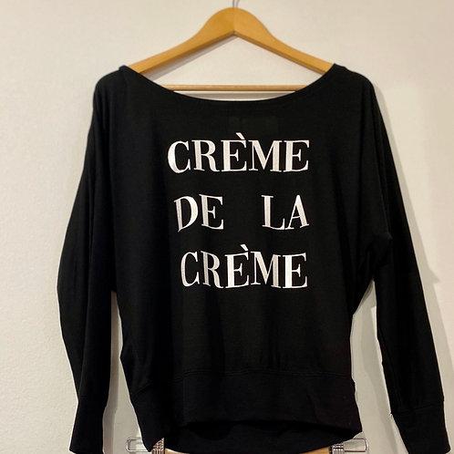 Creme De La Creme Dolman Long Sleeve Tee