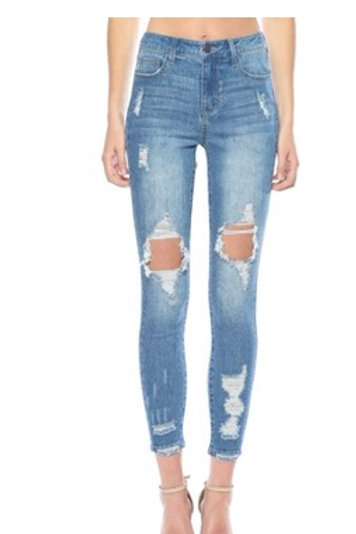 Cello Hi Rise  Ankle Skinny