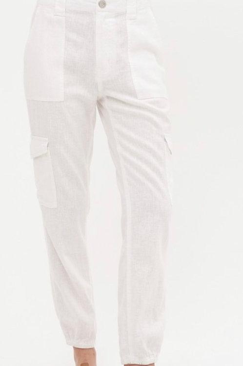Lana Linen Cargo Pant