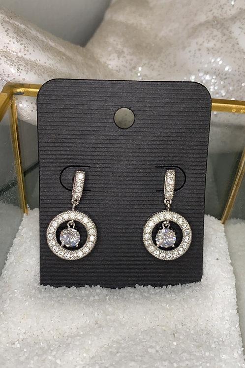 Twinkling Diamond Earrings