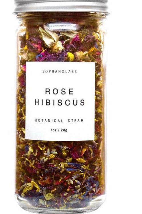 SopranoLabs Rose Hibiscus Botanical Steam