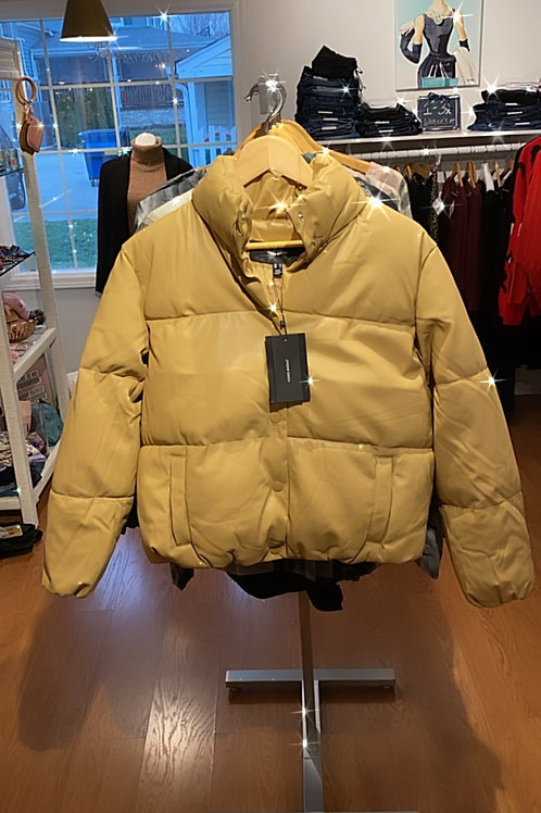 Vero Moda Buttery soft Vegan Leather Puffer