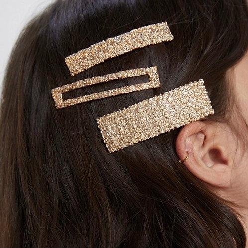 Gold Hair Pin Large