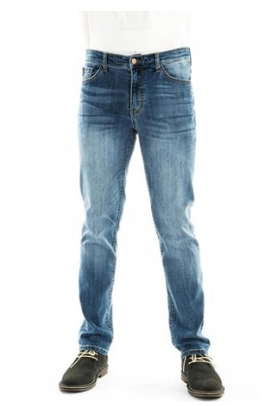 Mens Kancan Light wash straight Leg