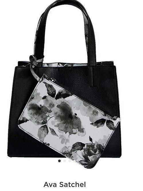 Ava Gardner  Floral  Satchel