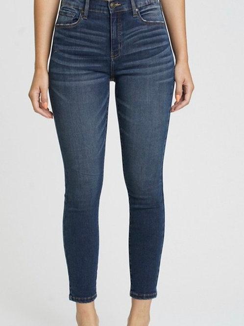 Eunina Clara High-Rise Cropped Jeans