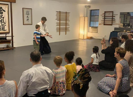 Weekly- Aikido Youth classes at Bond Street Dojo