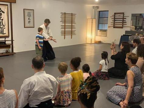 Weekly- Aikido Youth classes at Bond Street Dojo