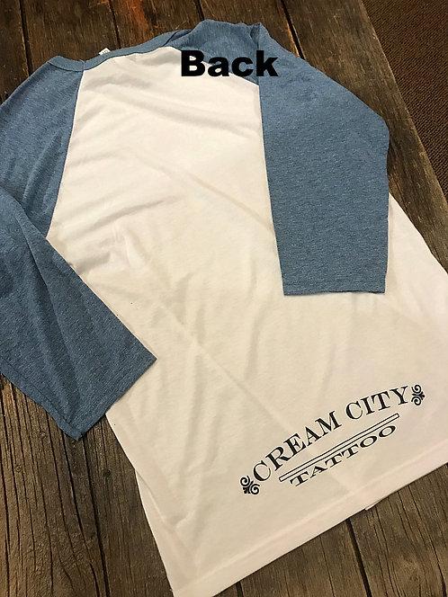 Basebal style shirt