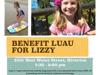 You're Invited! Luau For Lizzy