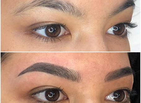 Give me some eyebrows... (Microblading)