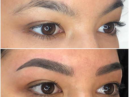 Give me some eyebrows... (Microblading)
