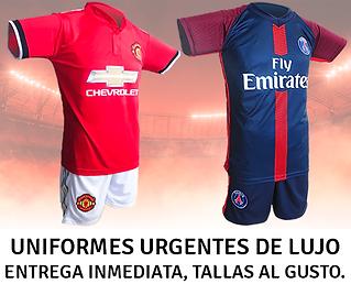 Uniformes de Futbol Urgentes
