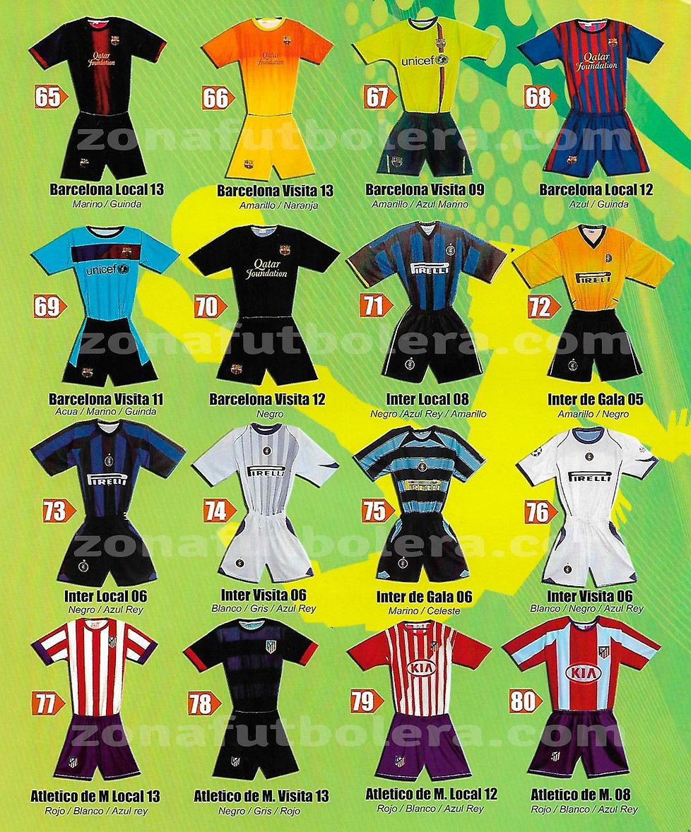 Catalogo Uniformes de Soccer