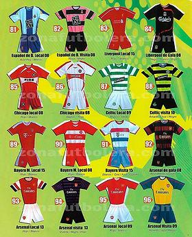 Uniformes de Futbol Internacionales 13e517abc9b9b