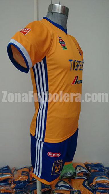 uniformes de tigres