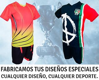 Uniformes de Futbol Diseños Especiales