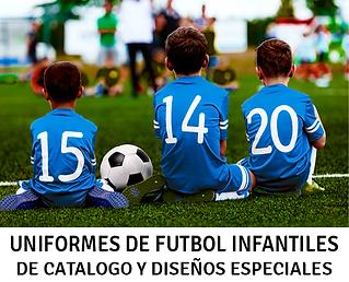 Uniformes de Futbol Infantiles, Uniformes de Soccer Infantiles