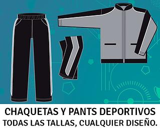 Chaquetas y Pants Deportivos, Juegos de Pants, Pants Deportivos