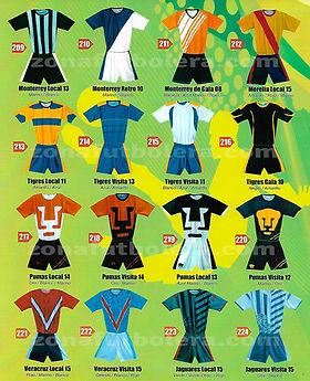 Uniformes de Futbol Economicos  1c74332b25c6f