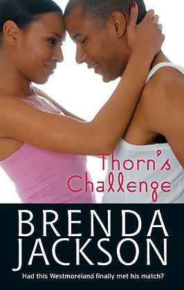 Thorn's Challenge By: Brenda Jackson