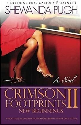 Crimson Footprints II by Shewanda Pugh