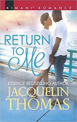 Return To Me By: Jacquelin Thomas